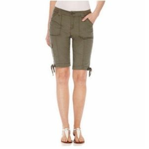 St. John's Bay Women's Bermuda Shorts
